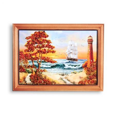 Картина Море янтарь  15*21 смКартины<br>Картина Море янтарь  15*21 см<br><br>kit: None