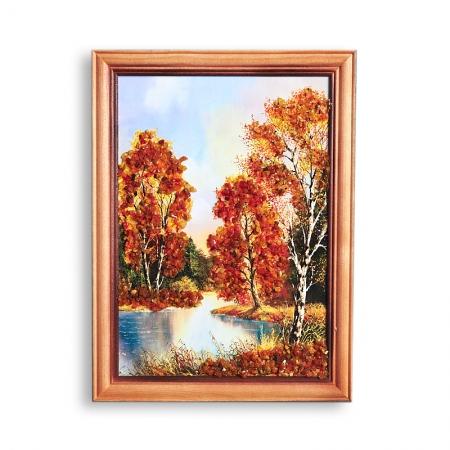 Картина Природа янтарь  15х21 смКартины<br>Картина Природа янтарь  15х21 см<br><br>kit: None