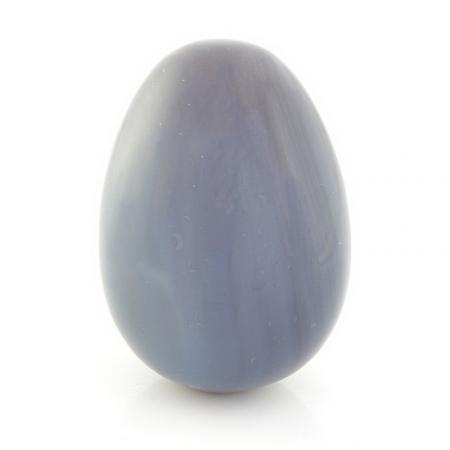 Яйцо агат серый  5 см