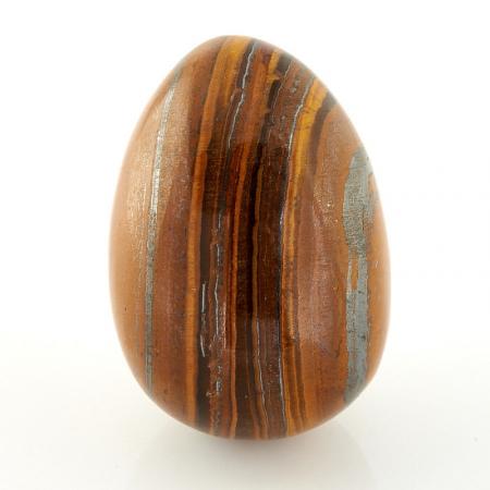 Яйцо тигровый глаз  35х48 мм