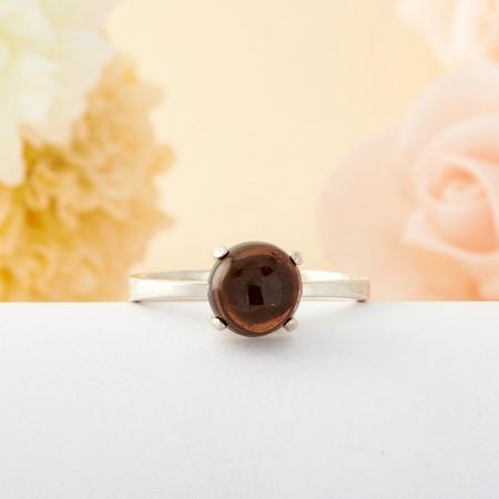 Кольцо турмалин  (серебро) размер 17,5