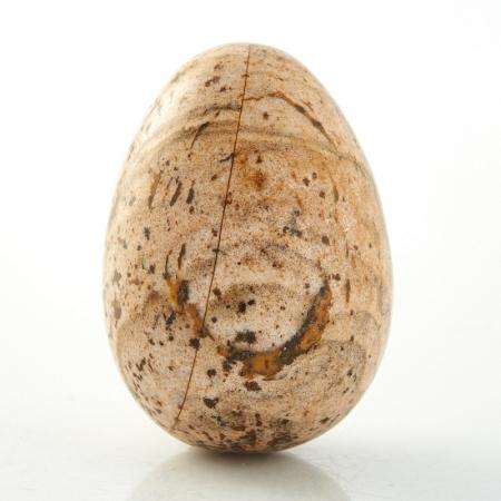 Яйцо яшма рисунчатая  18х25 ммЯшма<br>Яйцо яшма рисунчатая  18х25 мм<br><br>kit: None