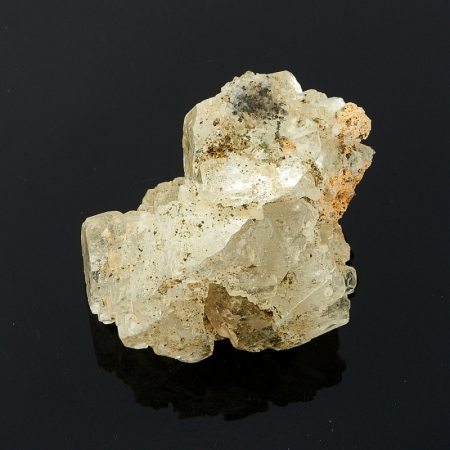Кристалл флюорит на кварце  (Дальнегорск)