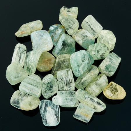 Берилл галтованный кристалл  Шерловая Гора 1-1,5 см 1 шт