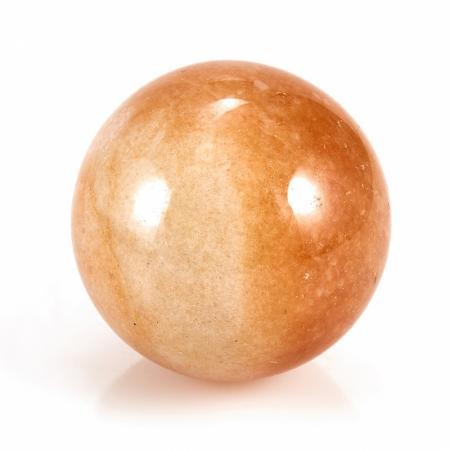 Шар авантюрин персиковый  3,5 см