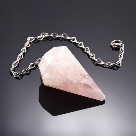 Маятник розовый кварц граненыйРозовый кварц<br>Маятник розовый кварц граненый<br><br>kit: None