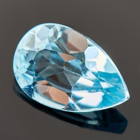 Огранка топаз голубой  8*12 ммТопаз<br>Огранка топаз голубой  8*12 мм<br><br>kit: None