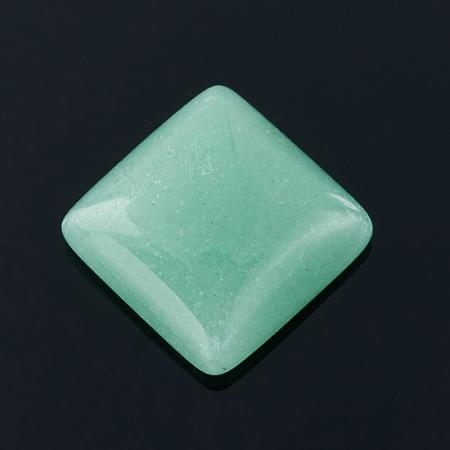 Кабошон авантюрин зеленый  10*10 мм