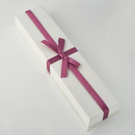 Подарочная упаковка под цепь/бусы/браслет 225х50х25 мм
