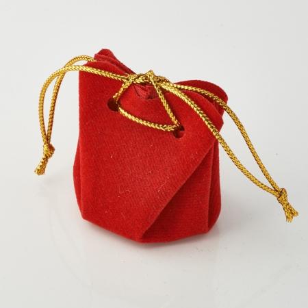 Подарочная упаковка универсальная (мешочек объемный красный) 35х35х40 ммПодарочная упаковка<br>Подарочная упаковка универсальная (мешочек объемный красный) 35х35х40 мм<br><br>kit: None