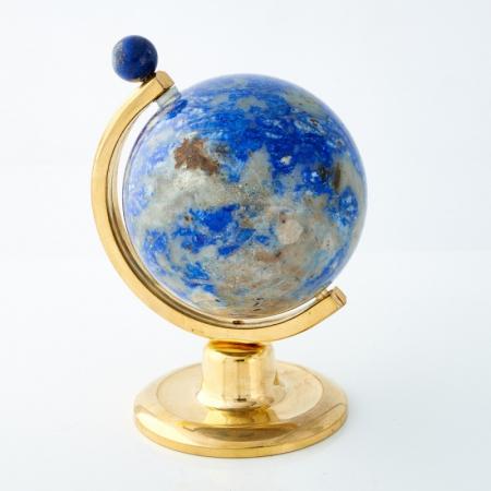 Глобус лазурит  (h=8 см)
