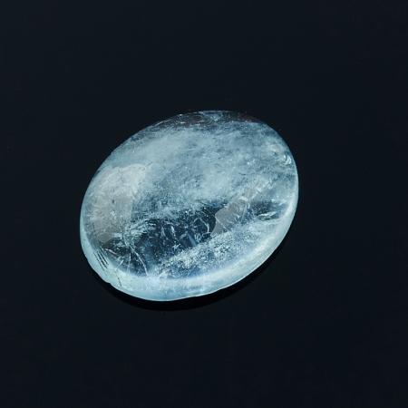 Кабошон аквамарин  8*10 мм