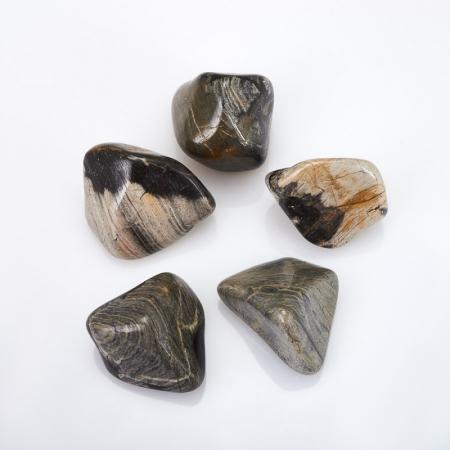 Яшма серебряная  (2-2,5 см) 1 шт