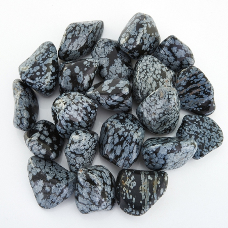 Обсидиан снежный  (2-2,5 см) 1 шт