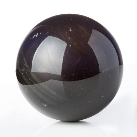 Шар обсидиан радужный  5 см