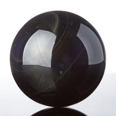 Шар обсидиан радужный  8,5 см