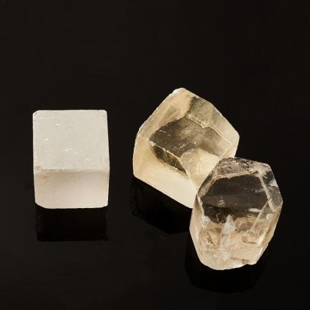 Кристалл кальцит оптический  (3 см) 1 шт