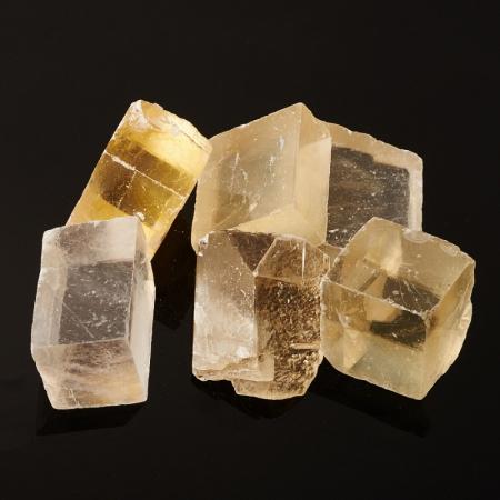 Кристалл кальцит оптический  (3-3,5 см) 1 шт