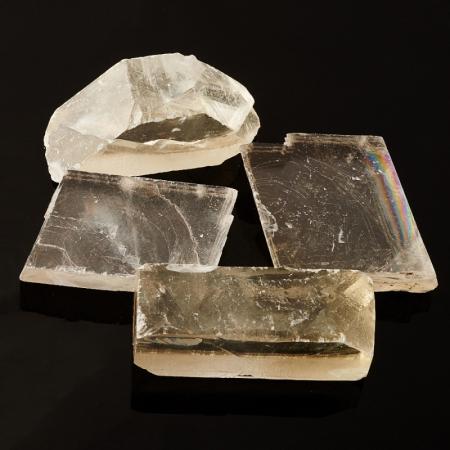 Кристалл кальцит оптический  (4-5 см) 1 шт