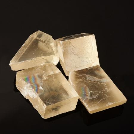 Кристалл кальцит оптический  (5-6 см) 1 шт