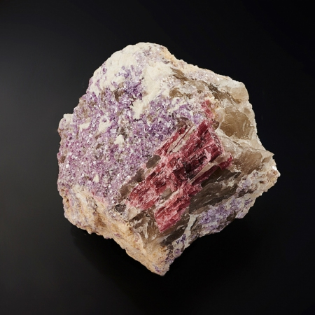 Кристалл в породе турмалин  LТурмалин<br>Кристалл в породе турмалин  L<br><br>kit: None