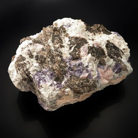 Кристалл в породе берилл (морганит)  17х11х7 см XLБерилл<br>Кристалл в породе берилл (морганит)  17х11х7 см XL<br><br>kit: None