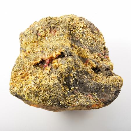 Кристалл в породе аурипигмент  11х12 см M