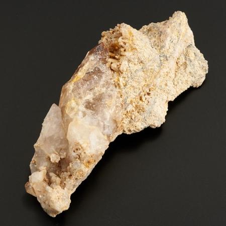 Скросток кристаллов в породе аметист  (Урал) M 112х48х27 мм