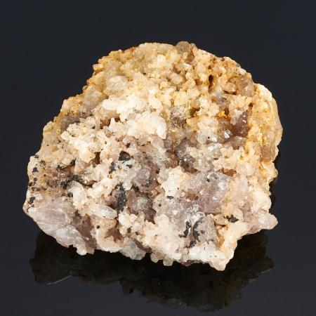 Друза аметист, кварц  (Урал) M 93х92х29 мм