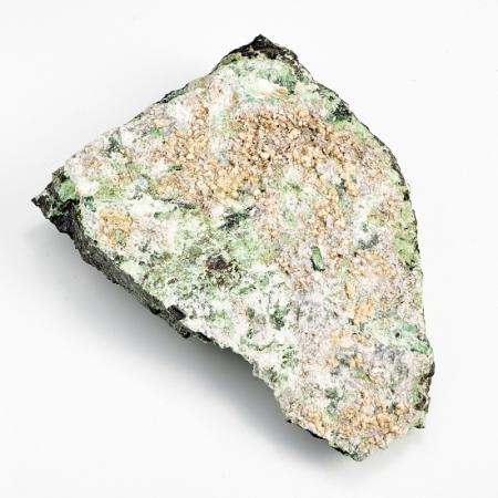 Образец хромвезувиан  (Урал) L 140х105х33 мм