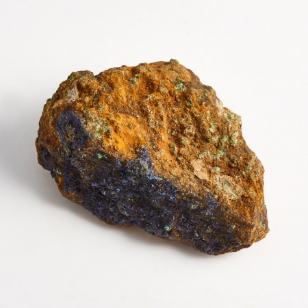 Образец азурит с малахитом  (Башкирия) XS 44х30х20 мм