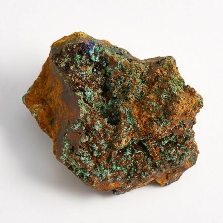 Образец азурит с малахитом  (Башкирия) XS 37х31х18 мм