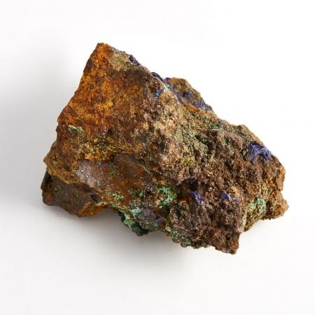 Образец азурит с малахитом  (Башкирия) S 50х35х30 мм