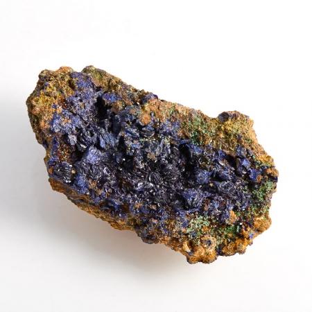 Образец азурит с малахитом  (Башкирия) M 72х42х26 мм