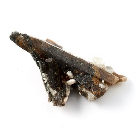 Кристалл (сросток) морион с топазом  XXS