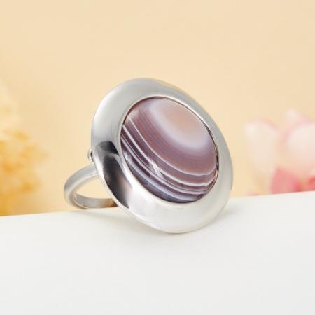 Кольцо агат  (серебро 925 пр.)  размер 19,5