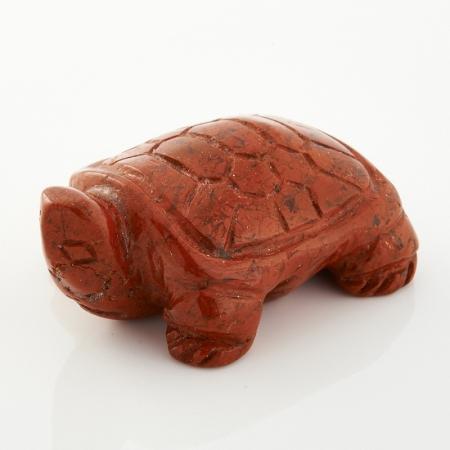 Черепаха яшма брекчиевая  5 см