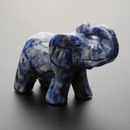 Слон содалит  8 смСодалит<br>Слон содалит  8 см<br><br>kit: None