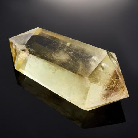 Кристалл (двухголовик) цитрин   M 33х46х94 мм