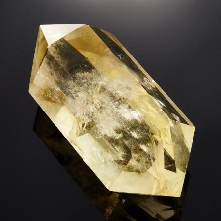 Кристалл (двухголовик) цитрин   M 35х42х93 мм