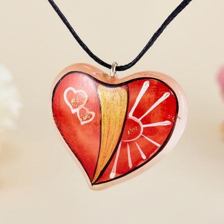 Кулон Сердце селенит  3,5 смСеленит<br>Кулон Сердце селенит  3,5 см<br><br>kit: None