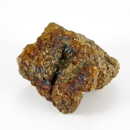 Образец халькопирит, ковеллин  S 38х39х53 мм
