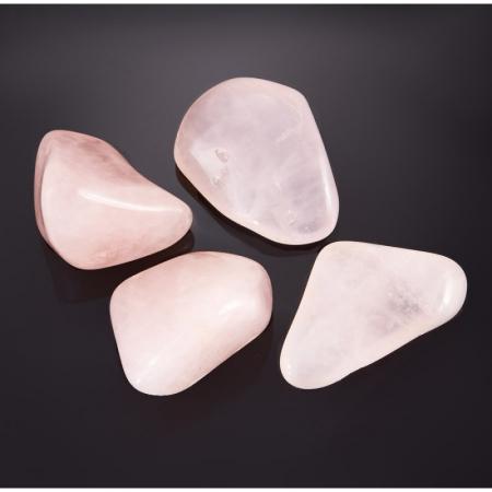 Розовый кварц прозрачный  (1,5-2 см) 1 шт