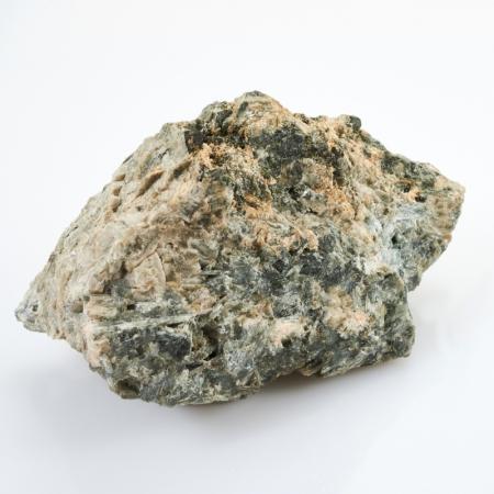 Образец титанит (сфен), пектолит, эгирин, микроклин  М 58х61х99 мм