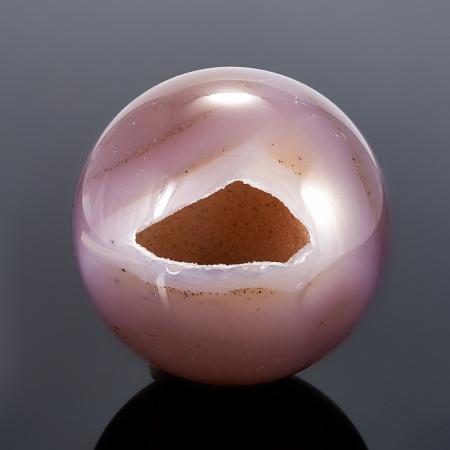Уникальный шар-жеода агат  4,5 см