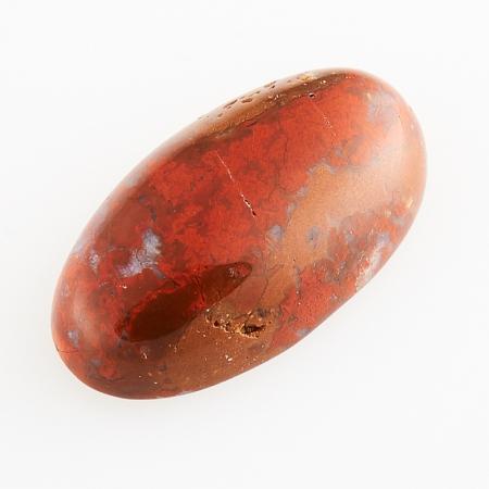 Кабошон яшма брекчиевая  8*15 мм
