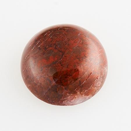 Кабошон яшма брекчиевая  10 мм