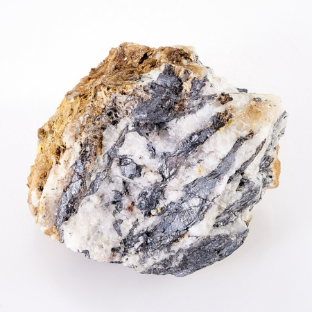 Образец стибиконит, ромеит по антимониту  S