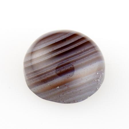 Кабошон агат серый  8 мм