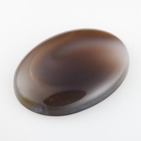Кабошон агат серый  22*30 мм